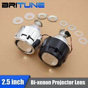 Upgrade 8 0 Mini Hid 2 5 Bi xenon Projector Headlight Lens H1 H4 H7 Retrofit