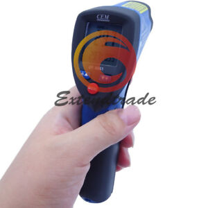 Dt 8861 Cem New Infrared Thermometer double Laser Infrared Thermometer 8 14u