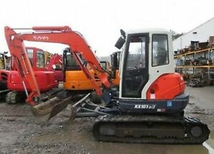 Kubota Excavator Mini Digger Operators Manuals Many Many Models