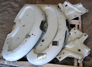 Ford 3000 Fenders Set Tractor Ie 4000 2000 3600 4600 2600 3610 4610