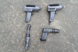 3 Snap on Air Tools Impact Wrench 1 Air Ratchet Parts