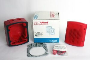 System Sensor Sprka Spectralert Advance Red Outdoor Wall Mount Speaker