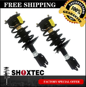 Front Pair Complete Strut Assembly W Coil Spring For 2000 2011 Chevrolet Impala