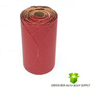 3m 80 Grit 6 Red Psa Stickit Abrasive Sandpaper Disc 100 roll Part 01116 1116