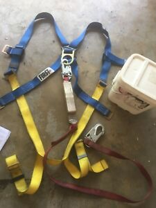 Protecta 2199810 Fall Protection Kit Includes Harness Lanyard And Container