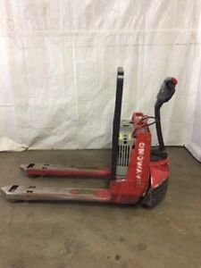 2010 Raymond Pallet Jack Excellent Condition Buy With Confidence 24v Electric