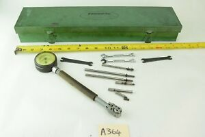 Mahr Federal Dial Bore Gage Rc21 Dial Indicator Extra Rods And Wrenches