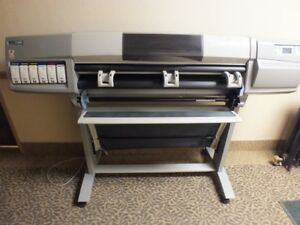 Hp Designjet 5000ps Large format Inkjet Printer Plotter