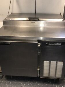 Beverage Air Commercial Used Pizza Prep Sandwich Prep Table Cooler
