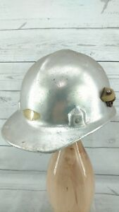 Alumitop Jackson Safety Products Aluminum Hard Hat Vintage No Headband