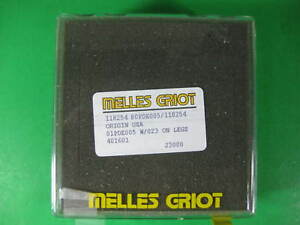 Melles Griot Lens 01pde005 New