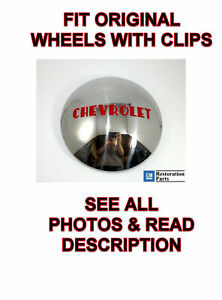 1 Chevrolet 1 2t Truck Hubcap Stainless 1947 1948 1949 1950 1951 1952 1953