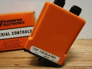 Diversified Electronics Tdf 120 ala 600 Repeat Cycle 6s To 600s