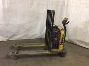 2012 Yale Pallet Jack Excellent Condition Buy With Confidence 24v Electric
