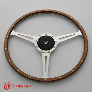 15 Classic Wood Steering Wheel Restoration Vintage Jaguar Xk140 Xk150 Xj6 xj12
