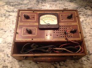 Antique Hickok Model 4900 s Radio Set Tester Untested Parts Or Repair