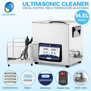 Professional Ultrasonic Cleaner Heat Solution Bath Engine Carburetor Clinic Lab