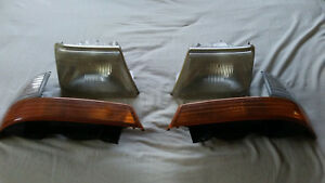 1998 2000 Ford Ranger Headlights With Park Turn Signal Lights Set Of 4