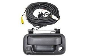 Tailgate Handle With Reverse Backup Camera Assembly For Ford Super Duty