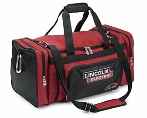 Lincoln Electric K3096 1 Welding Equipment Bag One Size Black red
