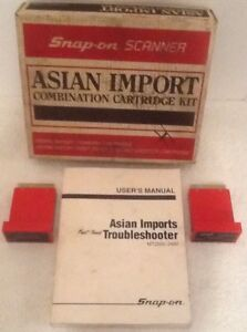 Snap On 1983 90 Asian Mt2500 4490 For Mt2500 Scanner Cartridges 1490