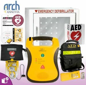 Defibtech Lifeline Aed W Battery brand New 2018 Wall Cabinet