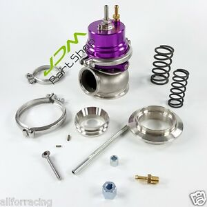 Gt2 60mm Wastegate Purple V Band For Toyota 1jzgte Sr20det Jdm purple