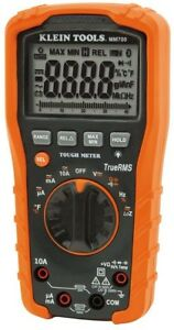 Klein Tools Test Meter Auto Ranging Digital Multimeter Clamp Thermocouple