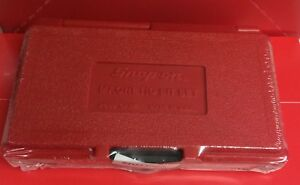 Brand New Snap On 37 Piece Master Screwdriver Bit Set In A Red Hard Case Sdm400a