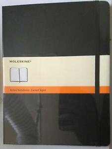 X3 Moleskine Hardcover Notebooks Ruled 10 X 7 1 2 Black