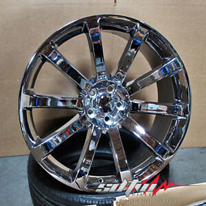 22 Srt 8 Style Chrome Wheels Rims Fits Chrysler Dodge Charger Chrysler 300c