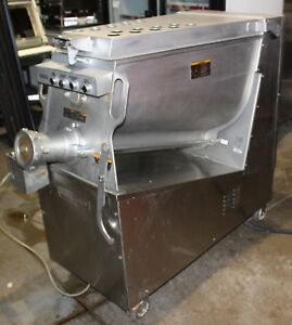 Used Hobart Meat Mixer Grinder Model Mg2032