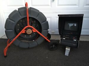 Ridgid 71rk Color Seesnake Sewer Storm Pipe Inspection Camera And Monitor 200