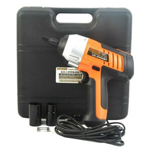 12v Electric Impact Wrench Car Tire Lug Nut Installation Removal Tool 1 2 Drive