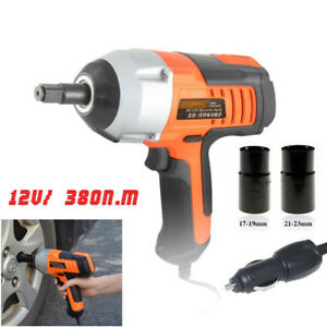 12v Electric Impact Wrench 1 2 Drive Car Tire Installation Removal Tool Socket