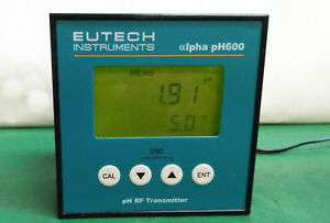 10454 Eutech Instruments Ph Rf Transmitter Alpha Ph600