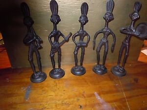Antique Lot Collection Of Metal Musicians Form India