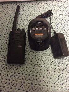 Hyt Tc 500 Vhf 150 174mhz 16ch Two Way Radio Walkie Talkie With Charger