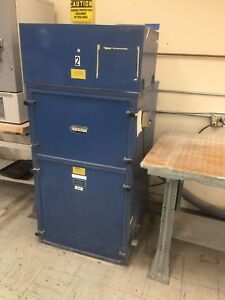 Donaldson Torit Model 7580 Bag Filter Type 1hp 115 230 Volt Dust Collector