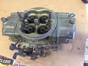 Holley 4150hp 850 Carburetor Gas Drag