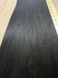 Poplar Dyed Black Wood Veneer 8 X 130 Raw No Backing a Grade 1 42 Thick