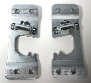 Pair 2 1967 1972 Chevy Pickup Truck Suburban Door Latch Striker Plates