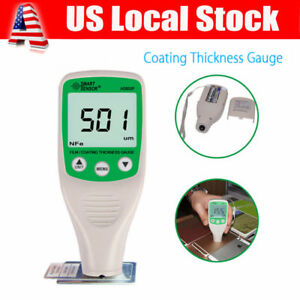 Painting Thickness Meter Car Coating Thickness Tester Gauge 0 1500um Refinishing