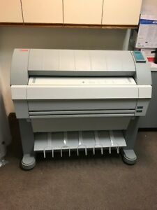 Oce Tds 320 Wide Format Printer Scanner Plotter Blue Print W Controller