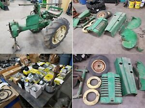 1948 John Deere M Tractor Ie Model 40 50 Mt Br Antique