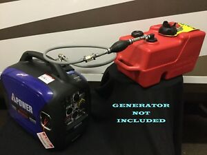 A ipower Sc2000 Inverter Generator 3 Gal Ext Run Marine Fuel System single Line