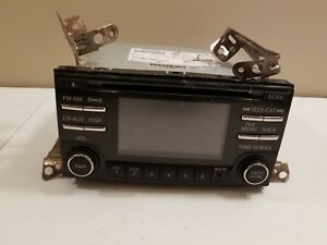 2013 2014 Nissan Cd Xm Am Fm Radio Display 281859fm1a As Is