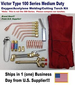 Victor Type 100fc Cutting welding Torch Kit With Tips And Accessories