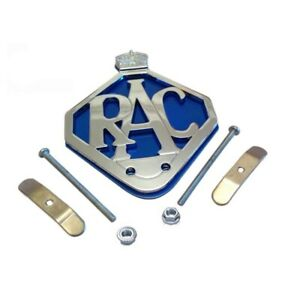 Rac Front Panel Brass Chrome Car Grille Badge Fixings Land Rover Series 1 2 3