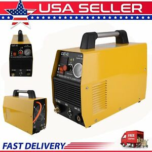 Air Plasma Cutter Cut40 Inverter 40amp 110v 220v Voltage New Model Machine Bt